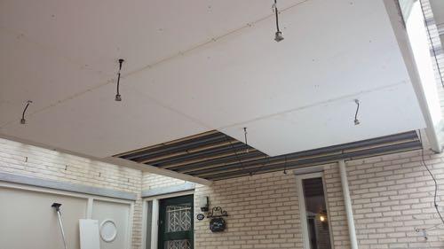 Dijkhorst Bouwservice - Ede (Gld) - Kozijn en plafond carport vervangen